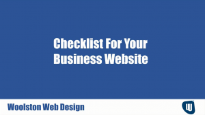 10 Things To Check Your Web Site Is Being Effective